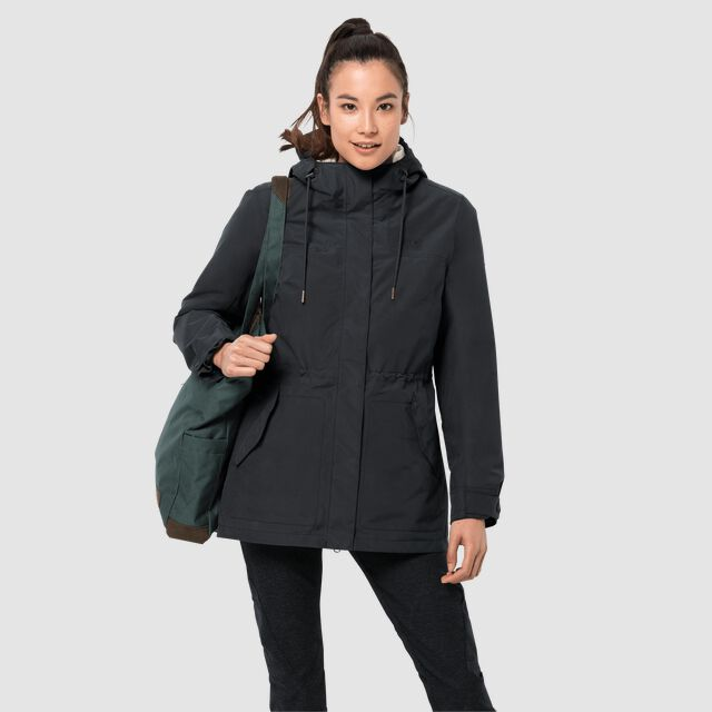 ROCK ISLAND 3IN1 PARKA W