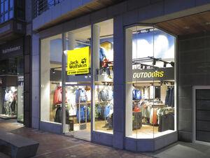 Neueröffnung von JACK WOLFSKIN Store in Knokke, Belgien