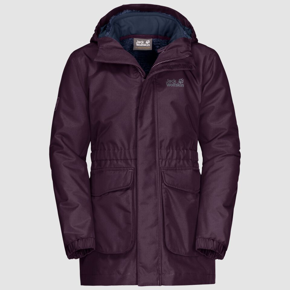 ICE CAVE 3IN1 JACKET GIRLS
