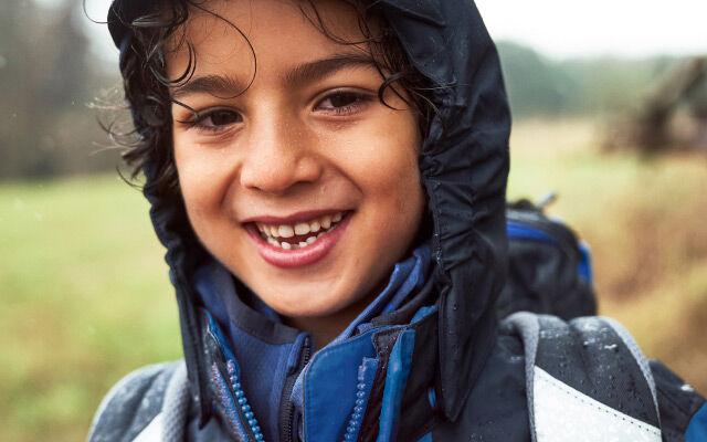 Enfants Plouf, plouf – anti-intempéries