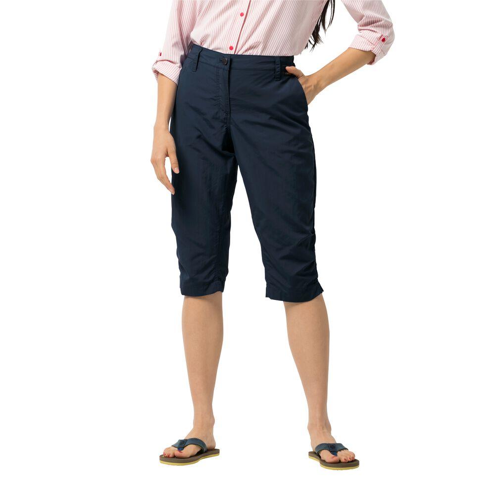 Image of Jack Wolfskin 3/4 Freizeithose Frauen Kalahari 3/4 Pants Women 40 blau midnight blue