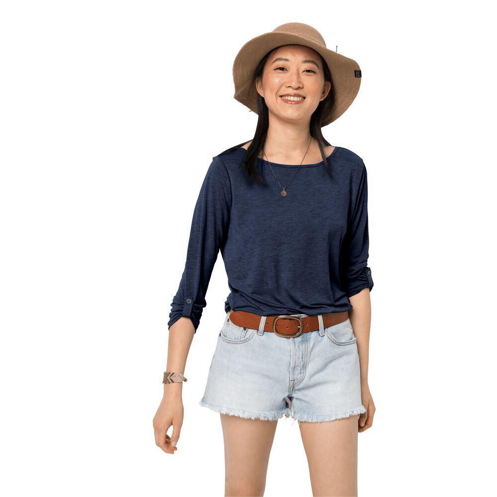 Image of Jack Wolfskin 3/4 Shirt Frauen Coral Coast 3/4 T-Shirt Women M blau midnight blue