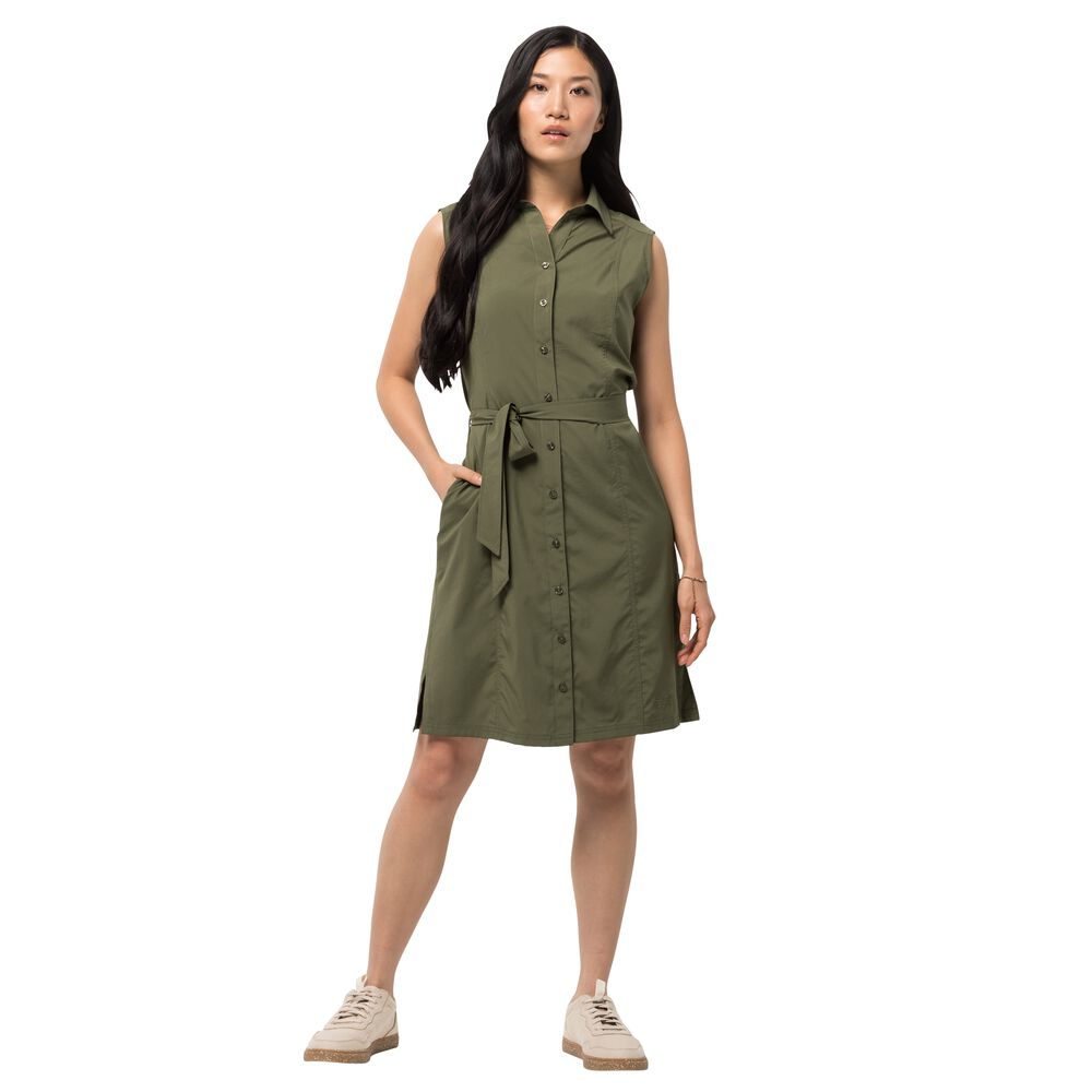 Image of Jack Wolfskin Blusenkleid Frauen Sonora Dress XL braun delta green