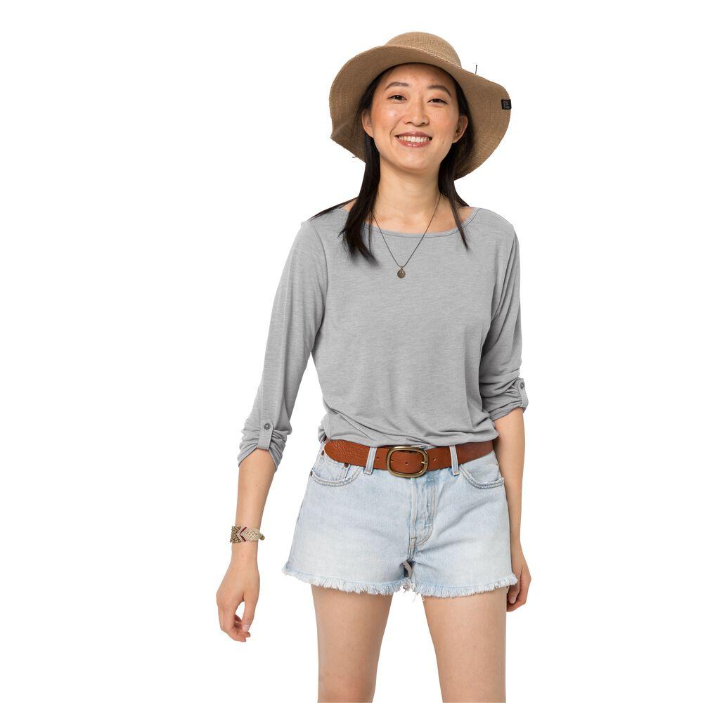 Image of Jack Wolfskin 3/4 Shirt Frauen Coral Coast 3/4 T-Shirt Women S grau light grey