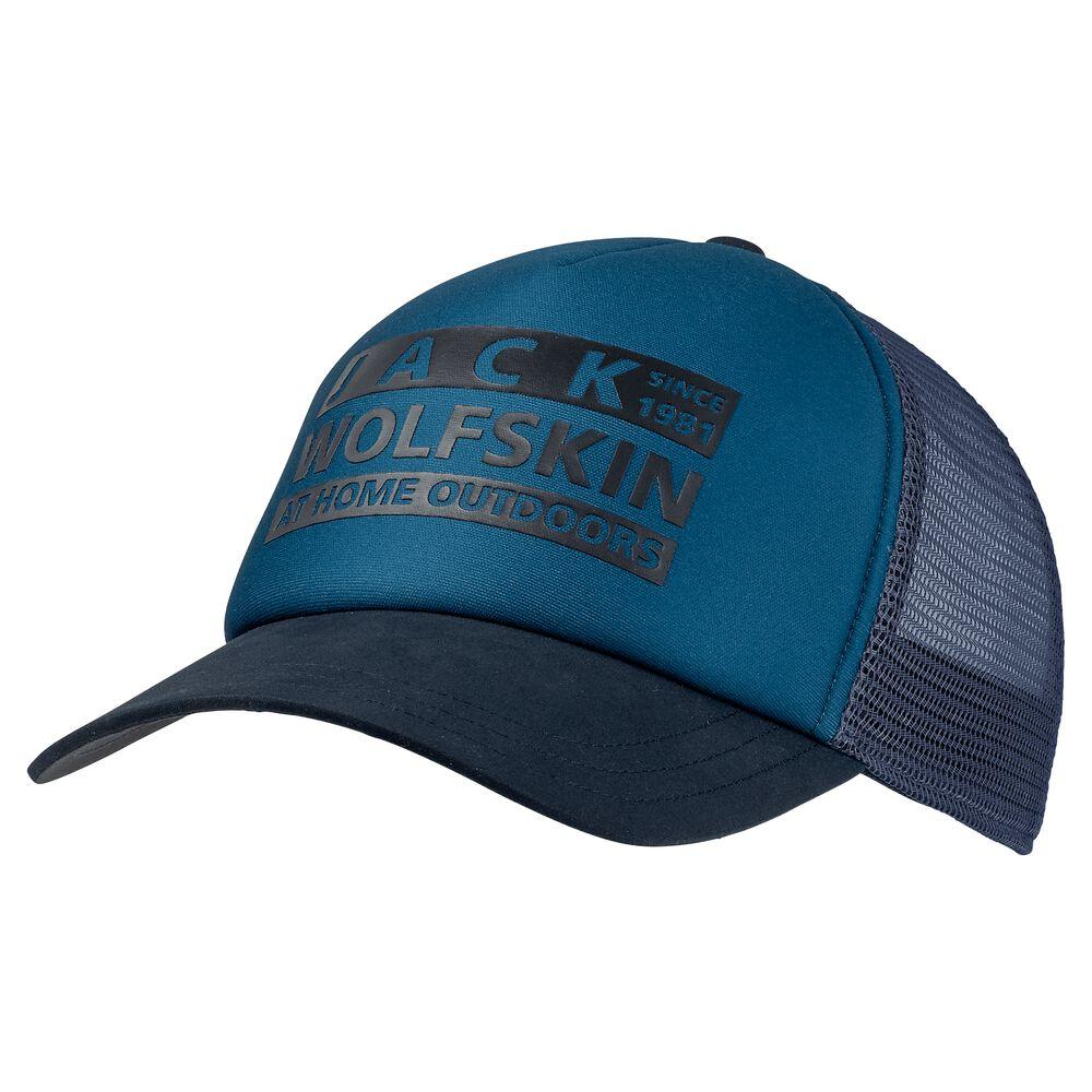 Image of Jack Wolfskin Basecap Brand Mesh Cap one size blau dark cobalt