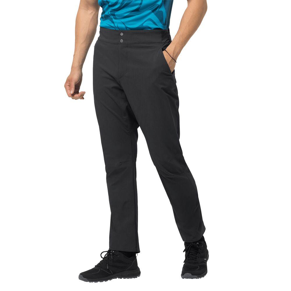 Image of Jack Wolfskin Fahrradhose Männer Gradient Pant Men 48 schwarz black