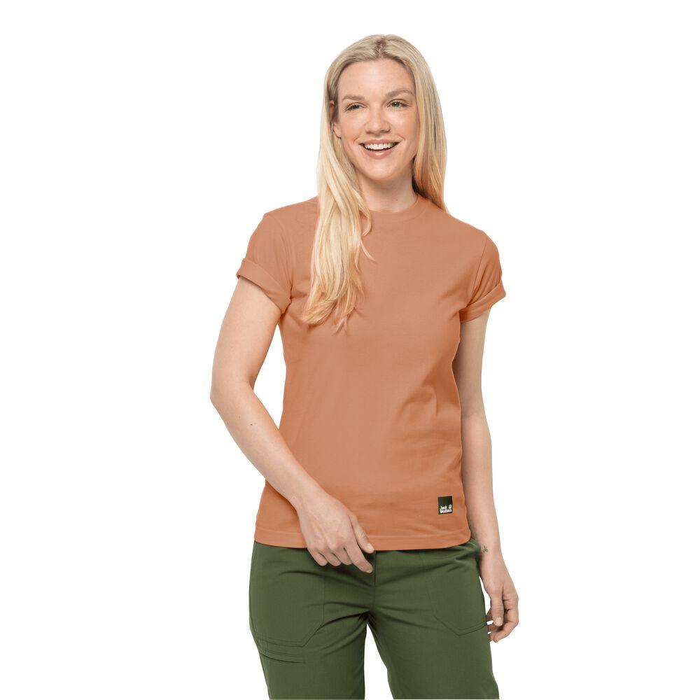 Image of Jack Wolfskin Baumwoll-T-Shirt Frauen 365 T-Shirt Women S dark peach dark peach