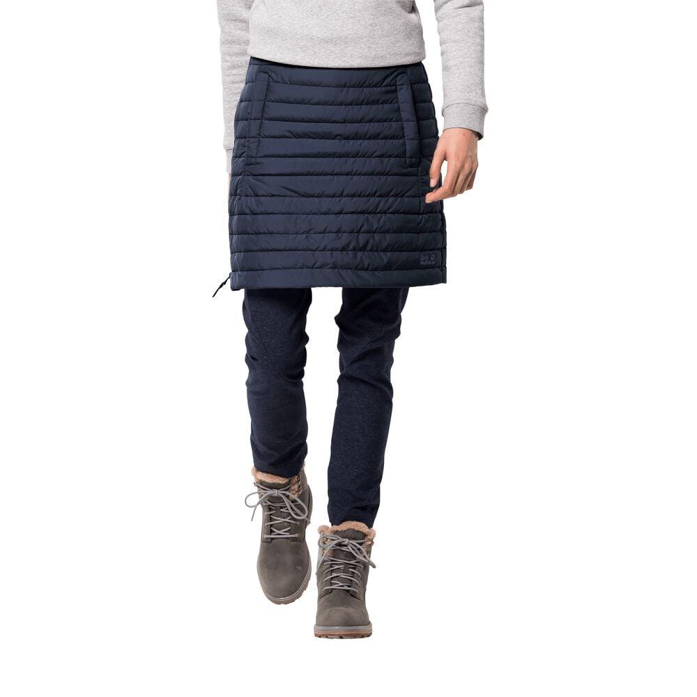 Image of Jack Wolfskin Daunenrock Frauen Iceguard Skirt L blau midnight blue