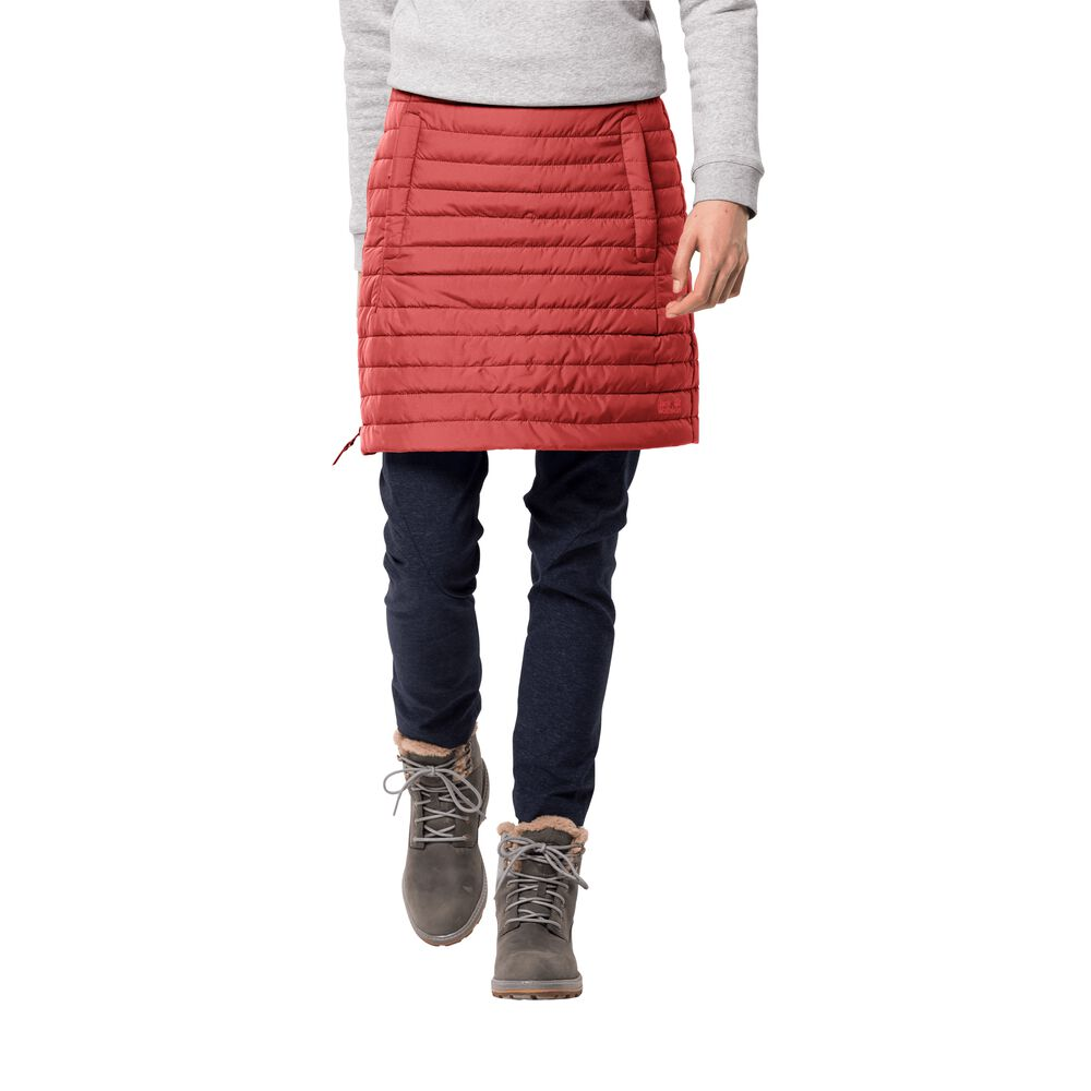 Image of Jack Wolfskin Daunenrock Frauen Iceguard Skirt M coral red coral red