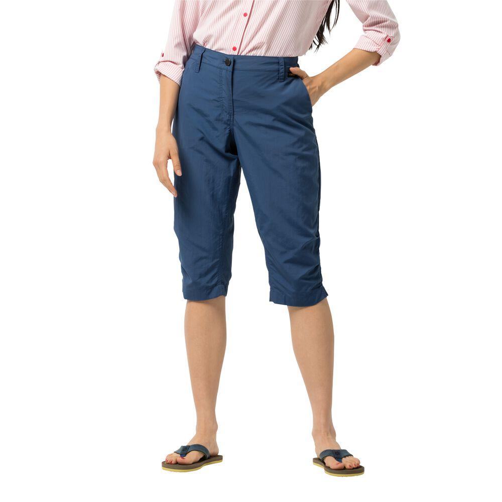 Image of Jack Wolfskin 3/4 Freizeithose Frauen Kalahari 3/4 Pants Women 38 blau ocean wave
