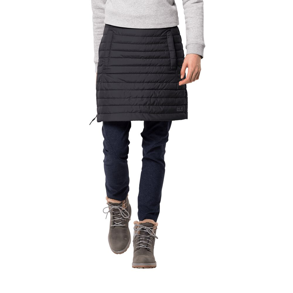 Image of Jack Wolfskin Daunenrock Frauen Iceguard Skirt L schwarz black