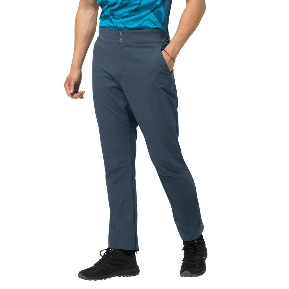 Image of Jack Wolfskin Fahrradhose Männer Gradient Pant Men 48 blau orion blue