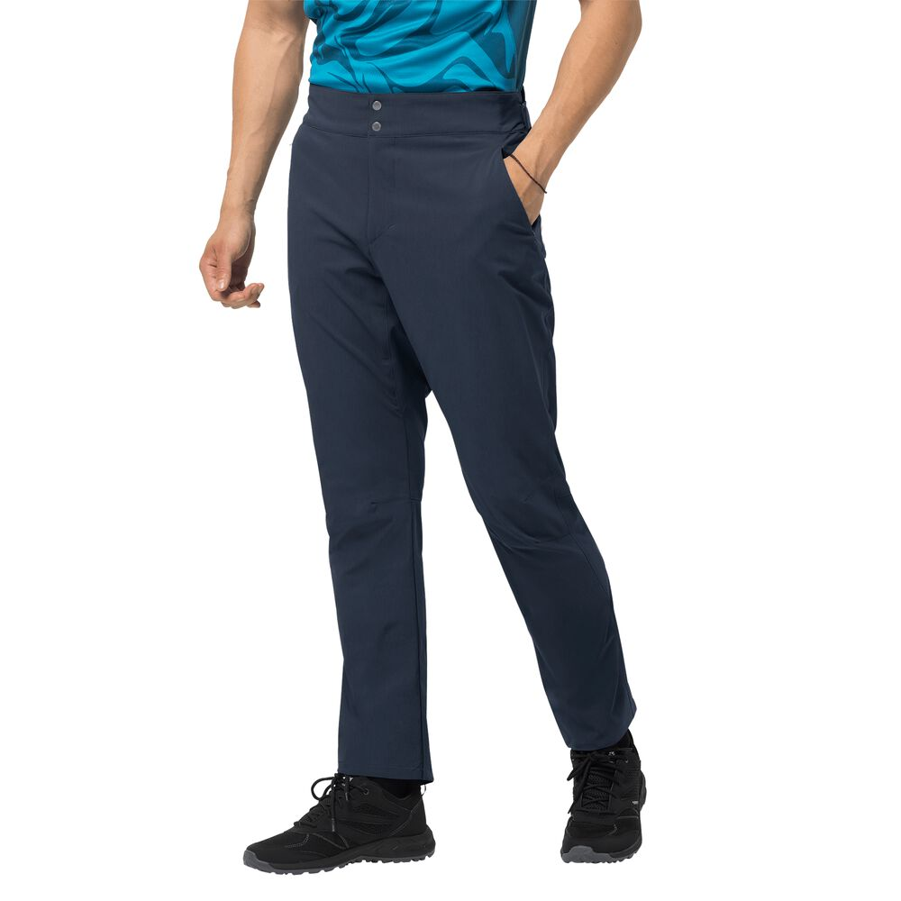 Image of Jack Wolfskin Fahrradhose Männer Gradient Pant Men 46 blau night blue