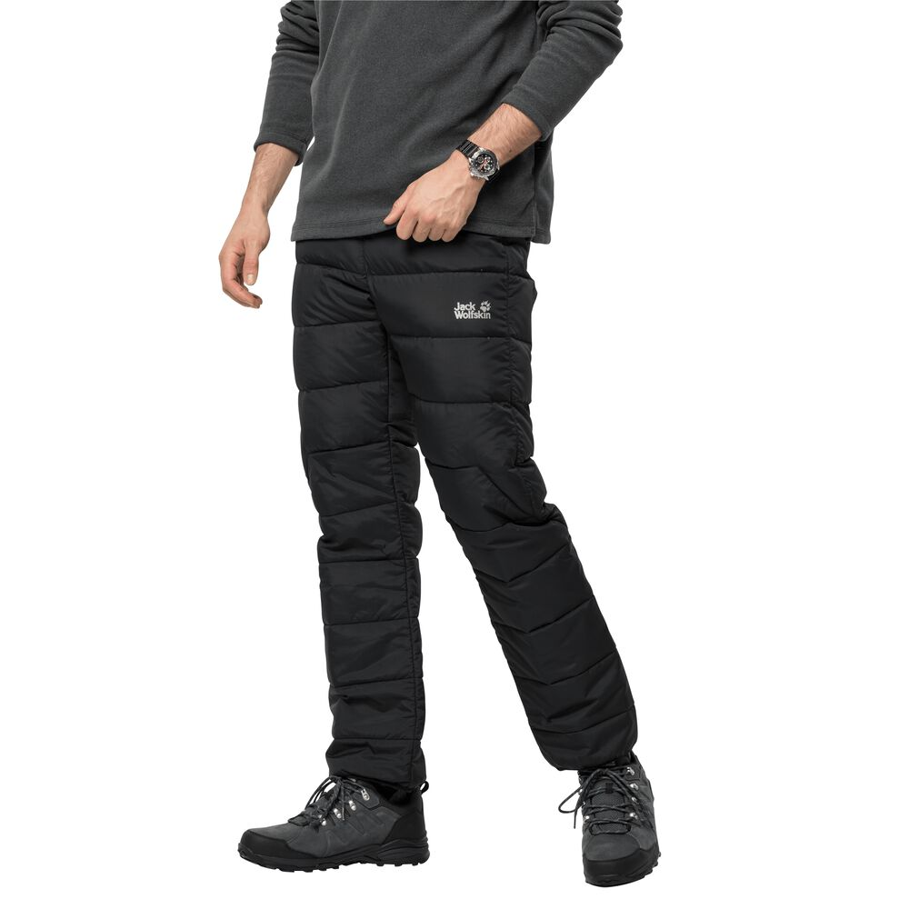 Image of Jack Wolfskin Daunenhose Männer Atmosphere Pants Men S schwarz black