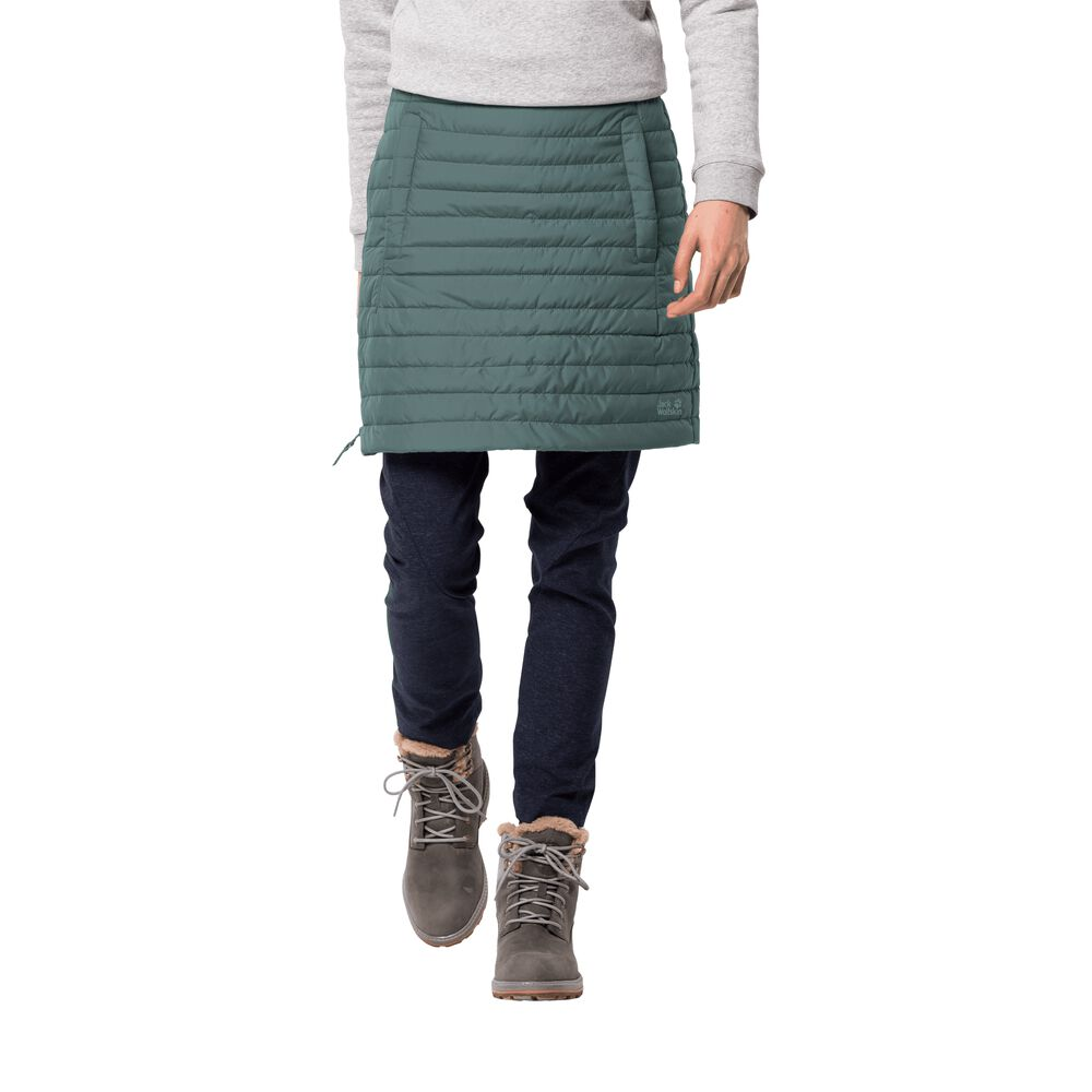 Image of Jack Wolfskin Daunenrock Frauen Iceguard Skirt L blau north atlantic