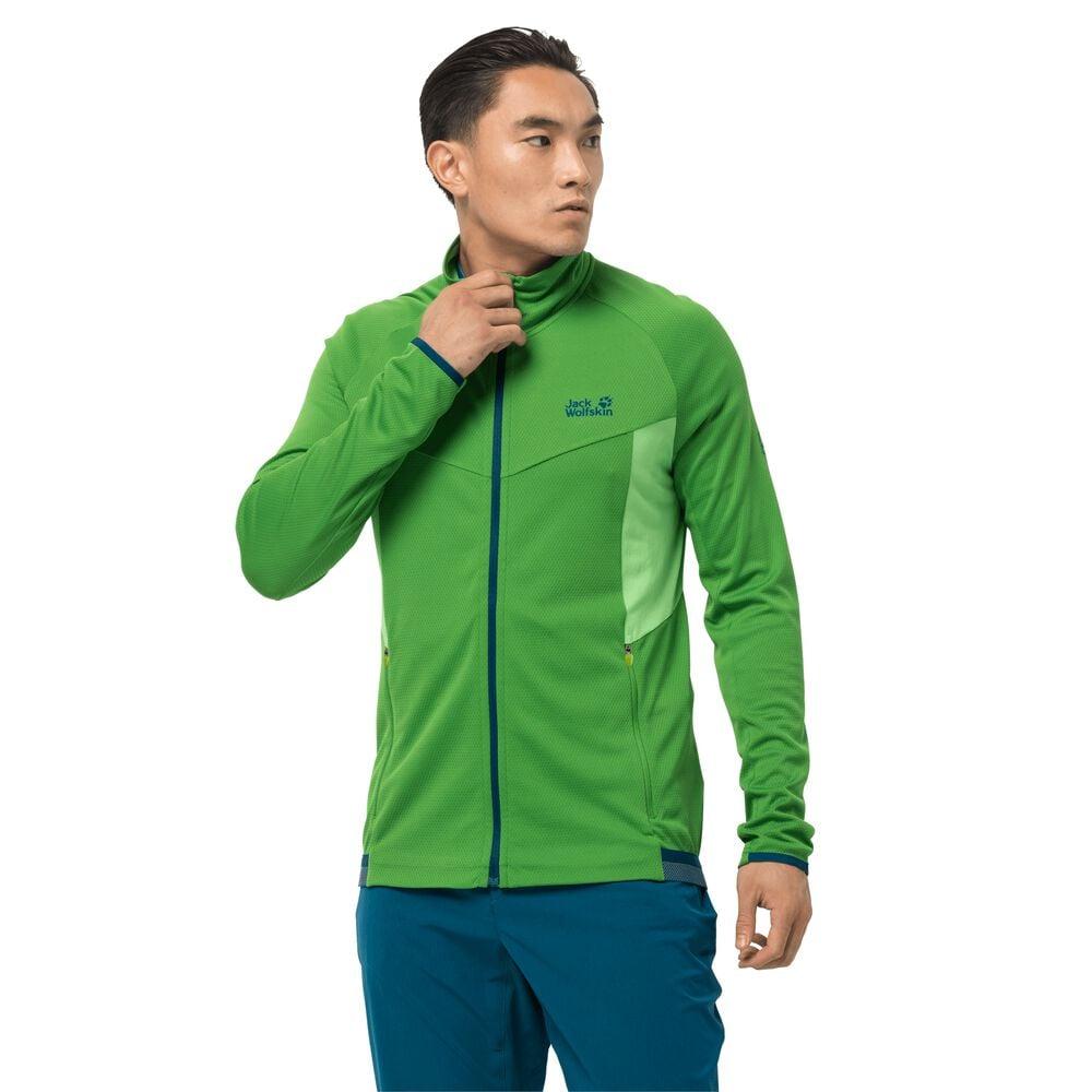 Image of Jack Wolfskin Fahrradjacke Männer Gradient Jacket Men XL grün basil green