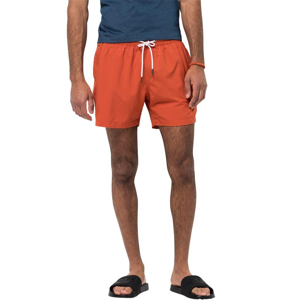 Image of Jack Wolfskin Badeshorts Männer Bay Swim Short Men M orange saffron orange