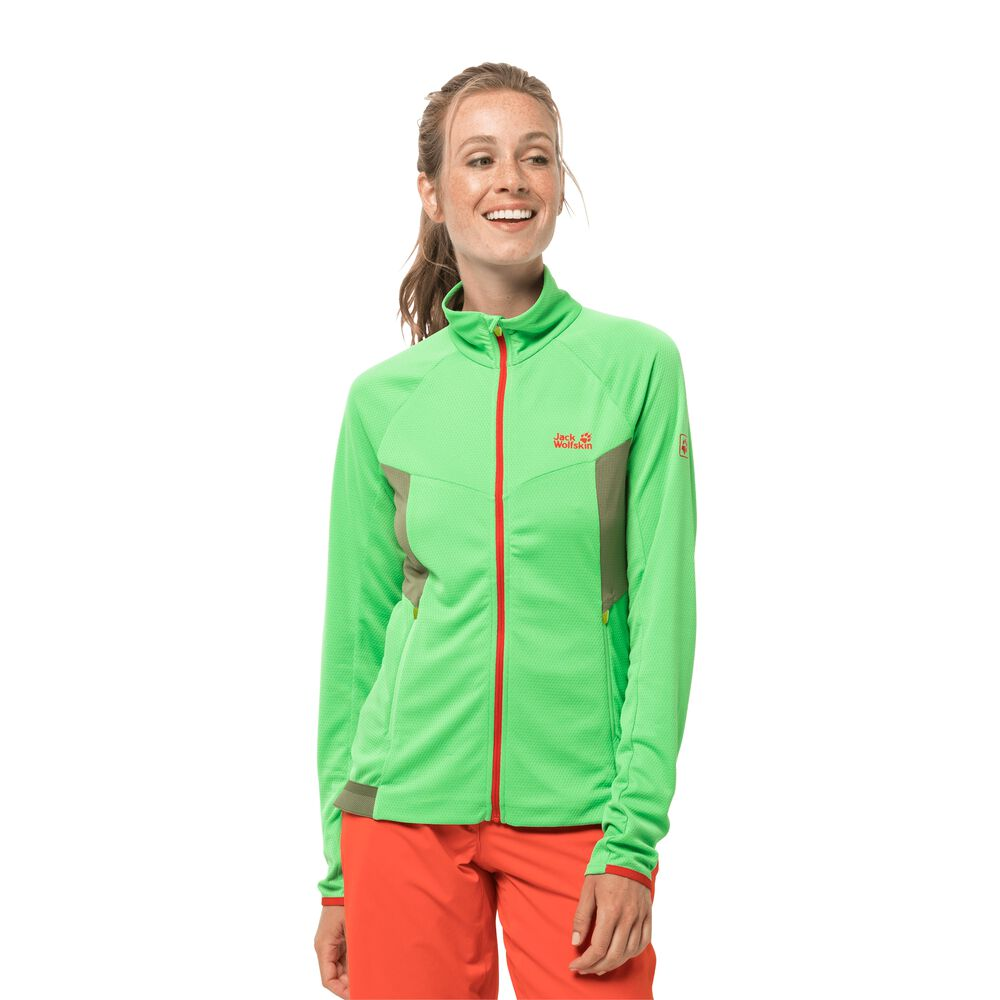 Image of Jack Wolfskin Fahrradjacke Frauen Gradient Jacket Women S grün summer green