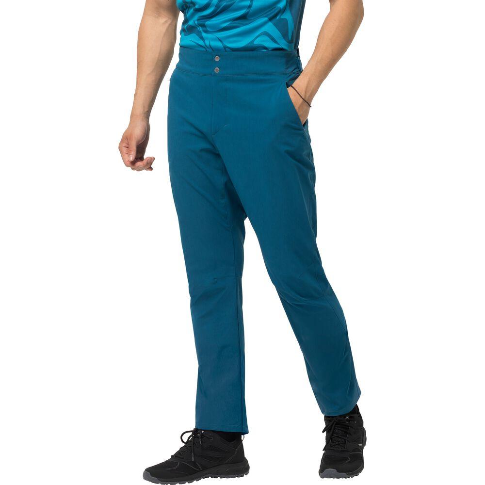 Image of Jack Wolfskin Fahrradhose Männer Gradient Pant Men 46 blau dark cobalt