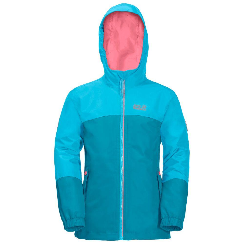 Image of Jack Wolfskin 3-in-1 Hardshell Mädchen Girls Iceland 3in1 Jacket 92 blau atoll blue