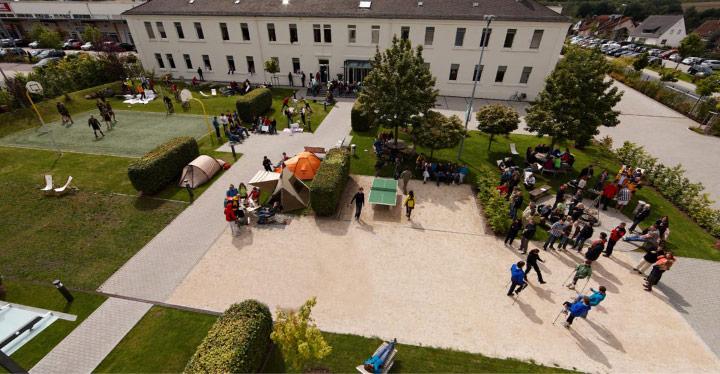 Das Hauptquartier in Idstein
